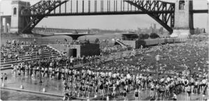 Astoria Pool, 1936, State-of-the-art Olympic-size pool in Queens, NY
