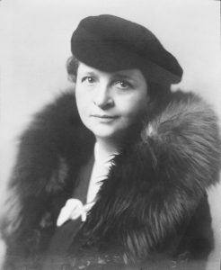 Frances Perkins, The first woman to serve in a presidential cabinet.