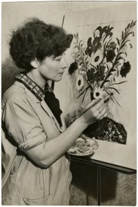 Jane Berlandina, New Deal artist at work