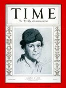 U.S. Labor Secretary Frances Perkins, Time Magazine Cover, August 14, 1933