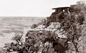 Yavapai Point Trailside Museum on the South Rim of the Grand Canyon, 1929