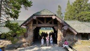 The Norris Museum was conceived as a gateway to the overlooks and trails of the geyser basin.