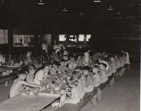 Mess hall at the Bald Eagle Hill Children's Health Camp - Washington DC