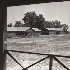 WPA-built Ddrmitories at the Bald Eagle Hill Children's Health Camp -Washington DC