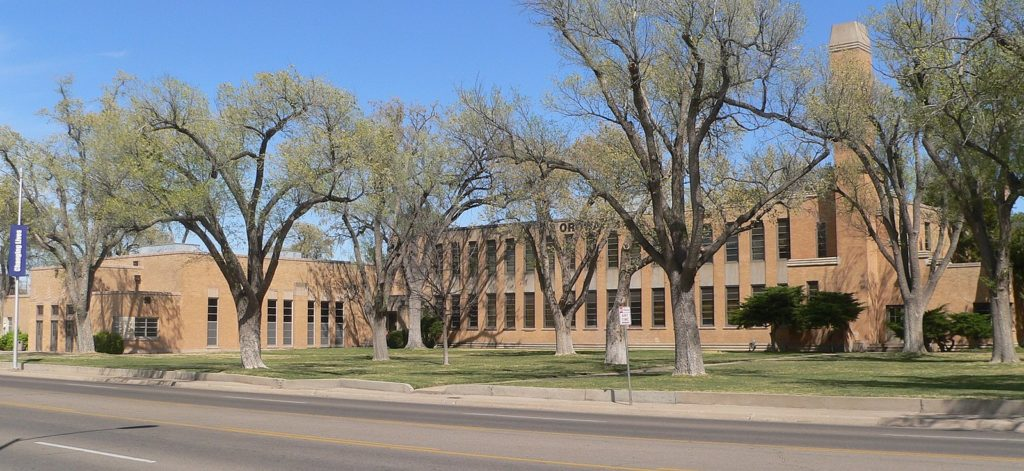 Amarillo College Ordway Hall Amarillo Tx Living New Deal