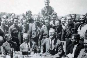 The president and key CCC staff, 1933