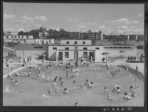 Greenbelt Pool, 1939