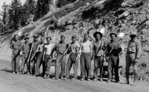 Highway maintenance project, 1933.