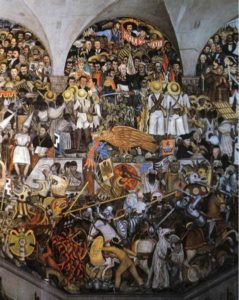 The History of Mexico, 1929-1935, by Diego Rivera