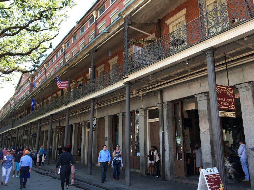 Upper Pontalba Building New Orleans La