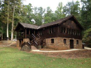 Camp Buckhorn Lodge, Paris Mountain State Park