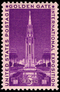 US Postage stamp Commemorating the GGIE