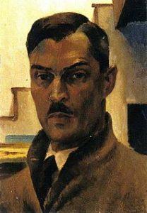 Victor Arnautoff, Self-portrait