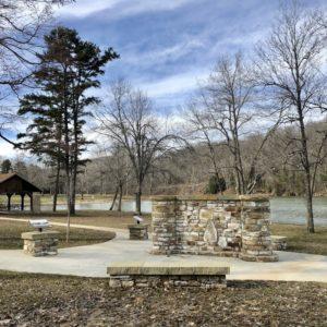 CCC Memorial at Roosevelt Lake, Shawnee State Park