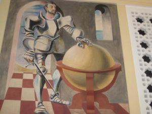 Mural, Rincon Annex Post Office by Anton Refregier