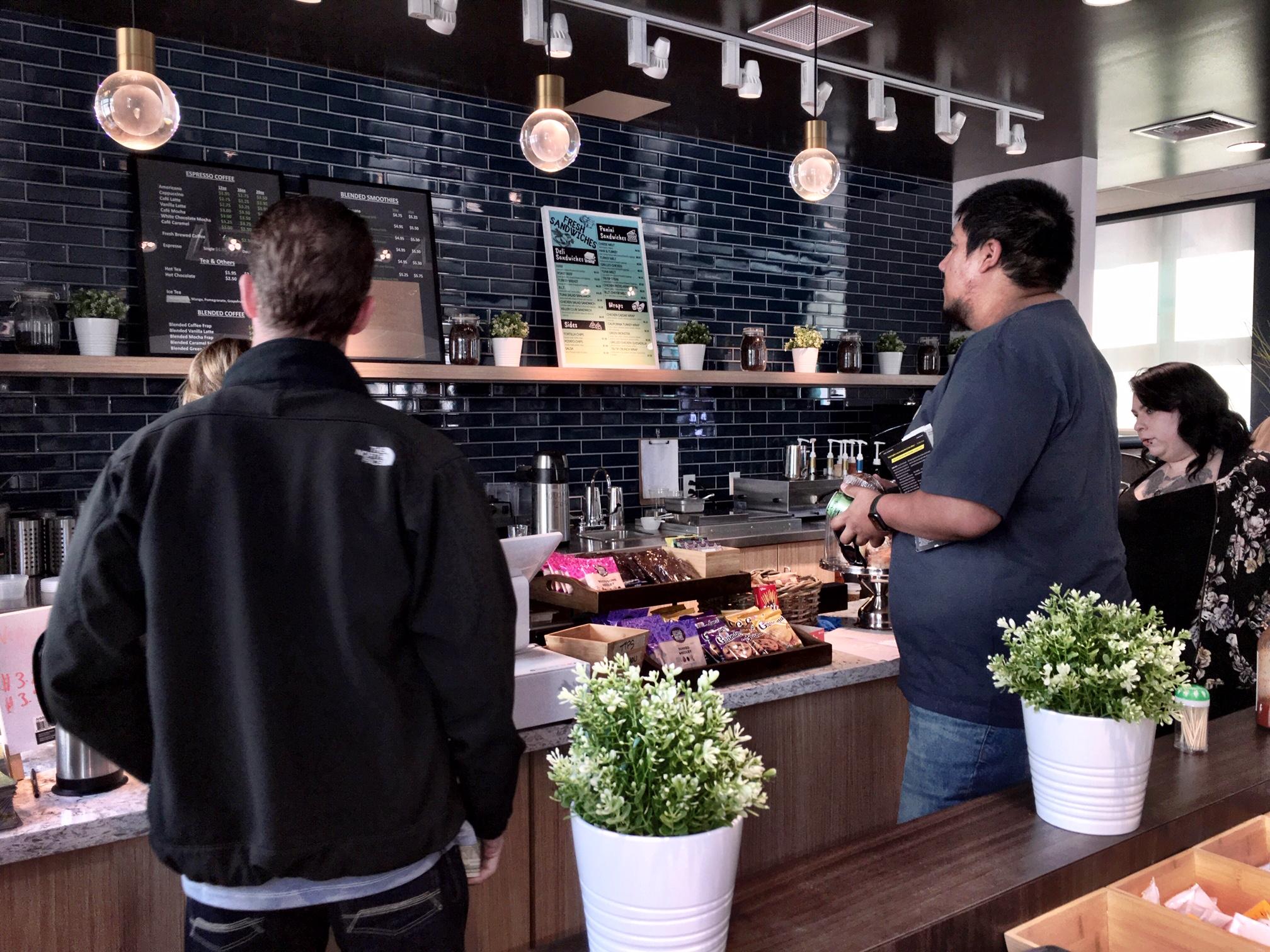 Inside Jo's Café