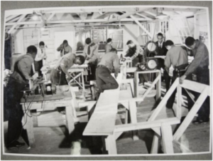 The CCC offered African American enrollees the opportunity to learn a trade.