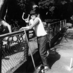 Horseshoe player at Golden Gate Park, 1969