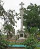 Colón Park: Columbus landing monument