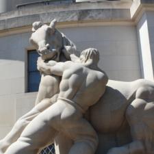 Lantz sculpture in front of FTC - Washington DC