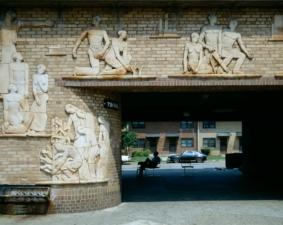 Olney frieze, Progress of Negro Race, Langston Terrace Dwellings - Washington DC