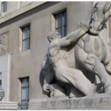Lantz sculpture, FTC - Washington DC