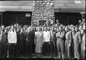 Eleanor Roosevelt at Yosemite