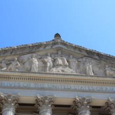 Tympanum,National Archives building - Washington DC