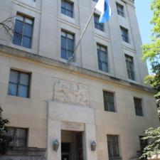 Side door, National Archives building - Washington DC