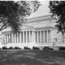 National Archives building in 1935 - Washington DC