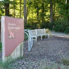 Sign at National Arboretum - Washington DC
