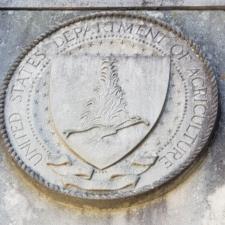 USDA plaque,National Arboretum - Washington DC