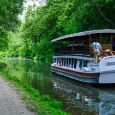 Canal boat near Great Falls, C&O Canal - Washington DC