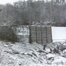 CCC enrollees reconstructing Lock 15 - Great Falls Park MD