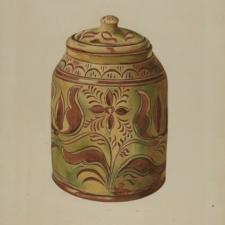 Henry Moran, Pennsylvania 'Dutch' pottery, 1939