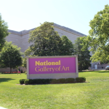 Sign forNational Gallery of Art - Washington DC