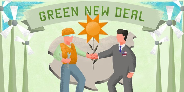 Green New Deal Artist Unknown