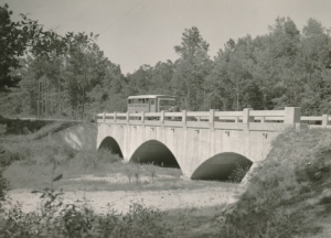 WPA concrete bridge