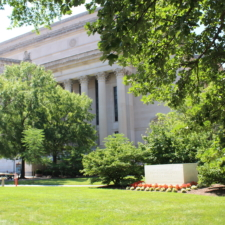 FDR Cenotaph in front of National Archives - Washington DC