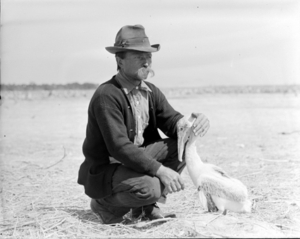 Paul Kroegel, the first federal refuge employee.