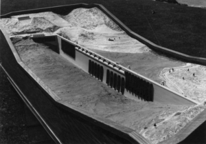 Scale Model of Grand Coulee Dam, 1938