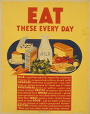 Eat These Every Day, circa 1942
