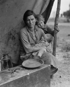 Migrant agricultural worker's family, 1936