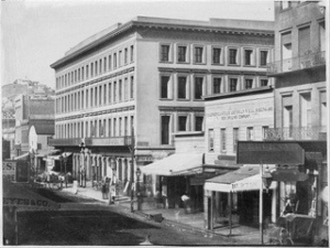The Montgomery Block in 1862