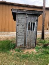 WPA outhouse