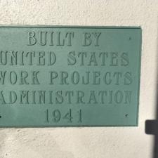 WPA plaque - Kimball Elementary School National City, CA
