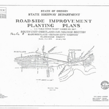 South Unit McLoughlin Boulevard Roadside Improvement Plan