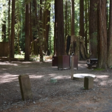 Burlington campground, probable site of second CCC camp -Humboldt Redwoods State Park CA