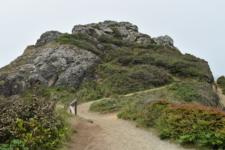 Trail to Wedding Rock, Patrick's Point State Park - Trinidad CA