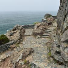 Viewing platform on Wedding Rock, Patrick's Point State Park - Trinidad CA